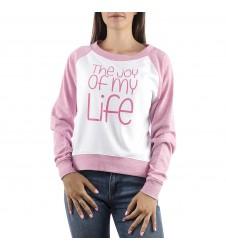 Дамска розова спортна блуза в размери M, L, XL