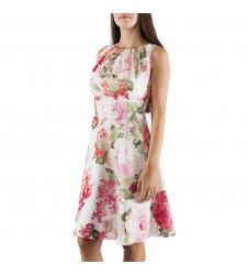 Swing флорална дамска рокля до коляно 44 размер