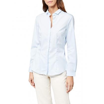 Дамска синя риза размер 46/XL