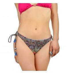Дамско долнище бански тип бикини в екзотични цветове размер 40/L