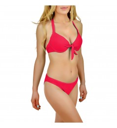 Дамски бански комплект Miami Beach в розов цвят размер 40