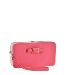 Розова дамска чантичка- портмоне