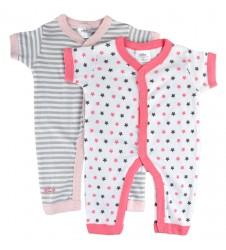 Twins Baby бебешки пижамки 2 броя в опаковка, размер 56