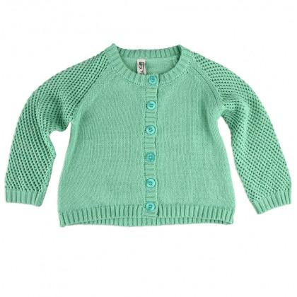 Magic Kids зелена жилетка за момиче