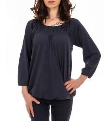 Berydale дамска блуза с широко обло деколте и ръкав 7/8 размер 36/S