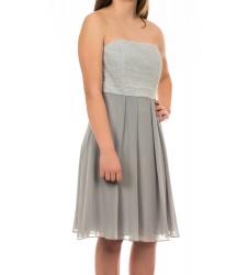 Swing сребриста дамска рокля без ръкави до коляно 36 размер