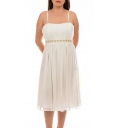 Swing дамска рокля в бяло 40 размер