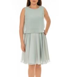 Swing дамска рокля в небесно синьо 38 размер