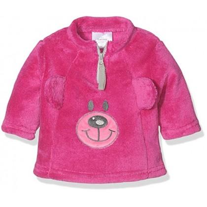 Бебешка розова пухкава блузка Teddy Bear
