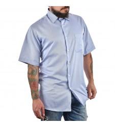 Мъжка синя ежедневна риза L размер